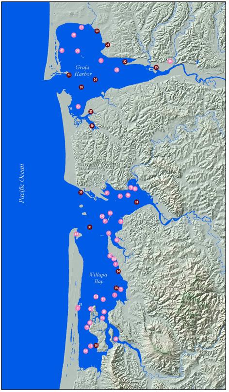 grays harbor map