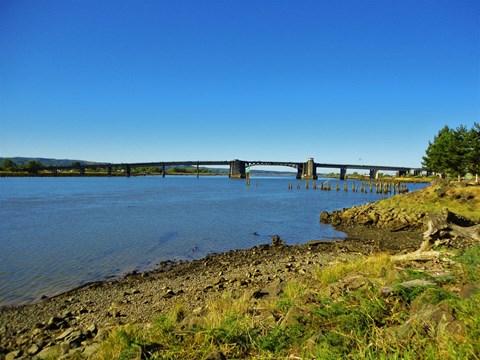 chehalis river bridge